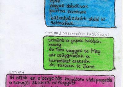 Bukovics Petra, Labbanc Petra, SMS versek Miskolc