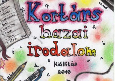 Kortárs hazai irodalom kiállítás