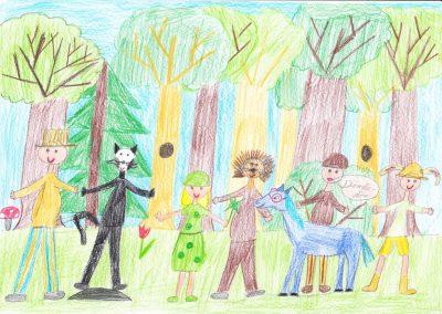 Lázár Ervin A négyszögletű kerek erdő 4