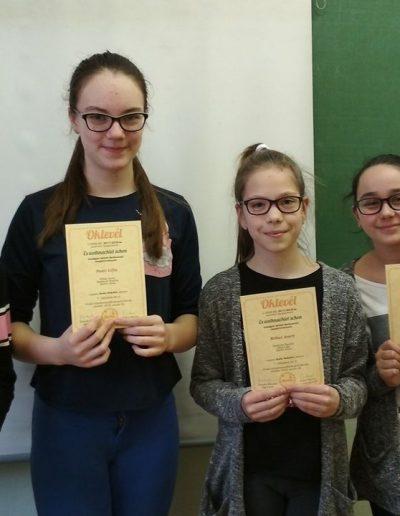 Barkóczi Natália, Kókai Anett, Pesti Lilla, Szabó Anna (7. helyezés)